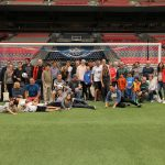 Planetworks celebrated 20 years of success alongside fellow alumni, family members and clients at a Vancouver Whitecaps match in June 2018.